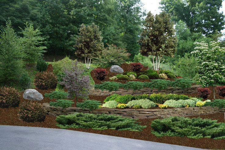 Hillside Landscaping Ideas Pictures Google Search Steep Lot