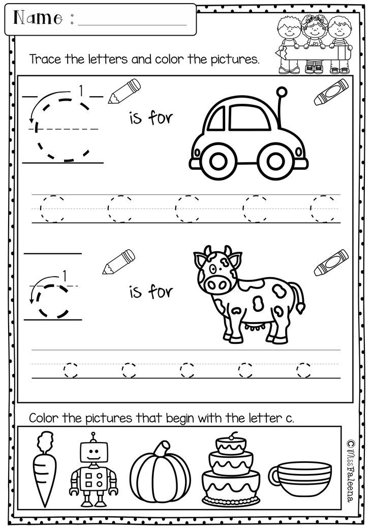 Free Kindergarten Morning Work includes 18 worksheet pages