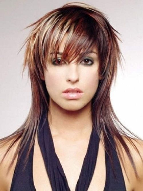Funky Hairstyles With Bangs And Layers For Long Hair Photos Coup