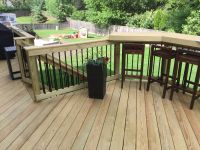 Deck with Built-In Bar by Palatine, IL Deck Builder | Wood ...