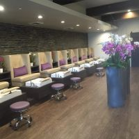 Stella pedicure chairs installed in Gloss.y Nail Salon ...
