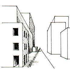 Arbeitsblatt Zeichnen Perspektive Zentralperspektive