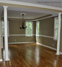 paint colors for dining room with chair rail | dining-room ...