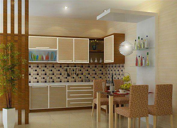 Contoh Ruang Makan Berdesain Minimalis  Good Ideas  Pinterest  Kitchen sets Kitchens and House