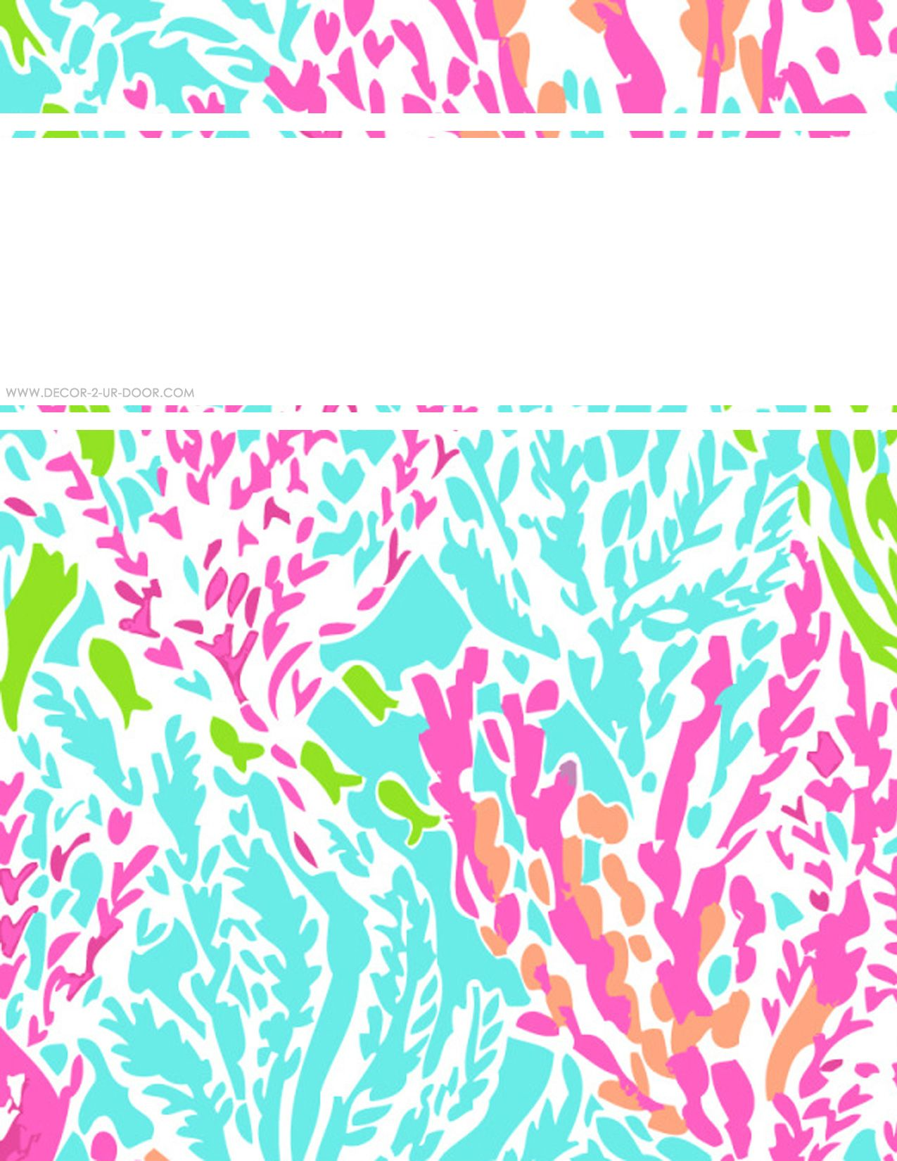 lilly pulitzer binder cover maker