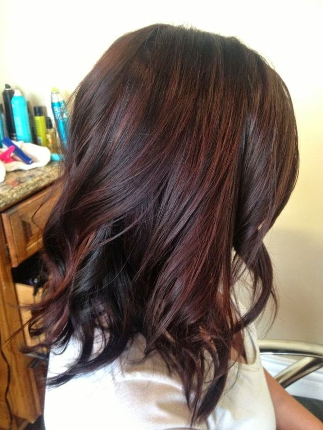 Different highlights for dark brown hair the best hair 2017 35 geous highlights for brightening up dark brown hair pmusecretfo Image collections