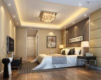 Modern Master Bedroom Design Ideas with Luxury Lamps White