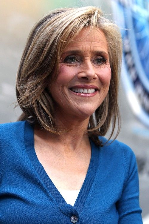 Meredith Vieira's Medium Length Haircut Gets A Boost From Dramatic