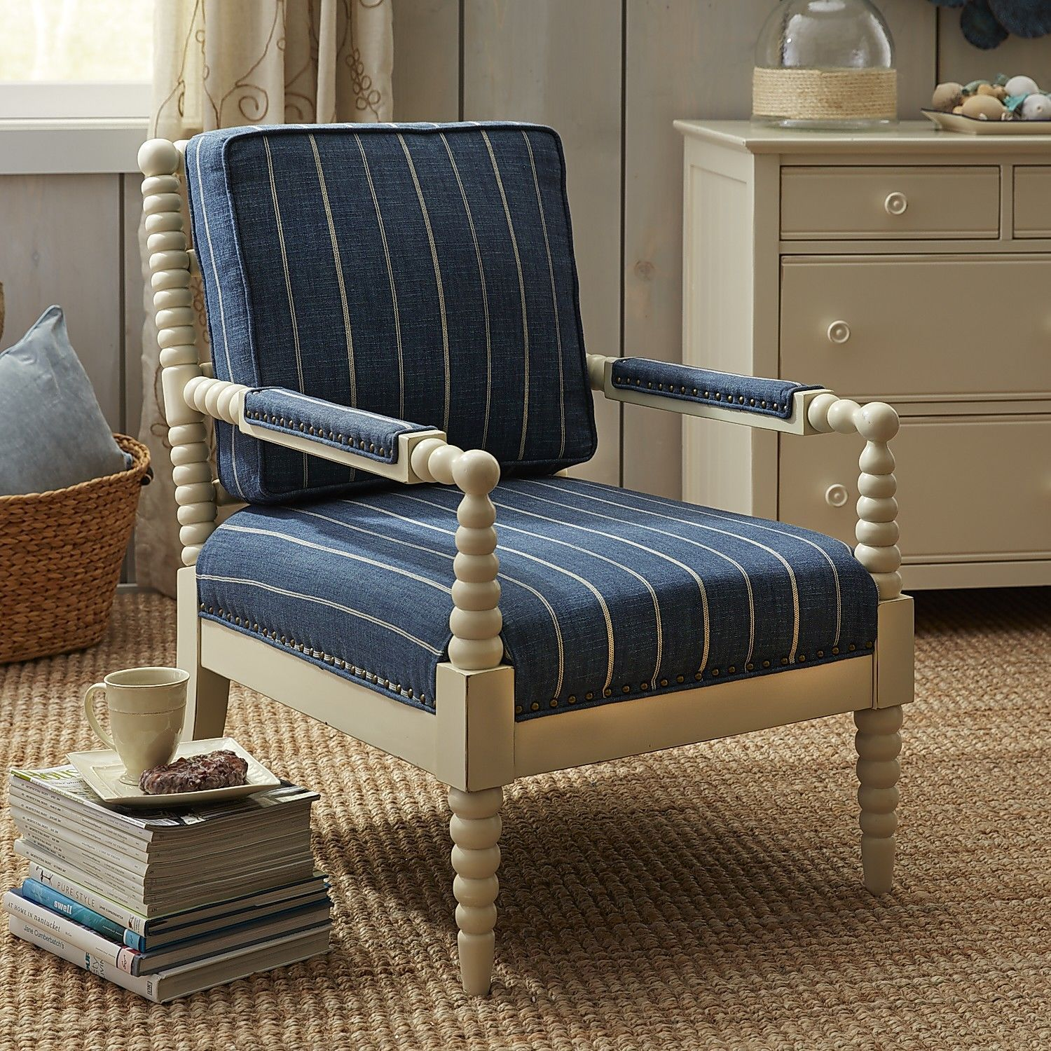 Spindle Arm Chair  500 at Pier One Bobbin Chair