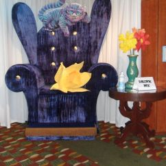 Alice In Wonderland Chair Wheel Olx Photo Op Over Sized Themed Gala