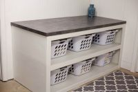 Laundry Room/Office Space Reveal | Laundry rooms, Laundry ...