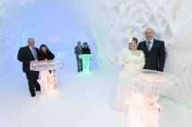 Ice Hotel Kittil Winter Wedding Dream