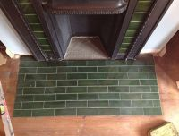 Green Victorian Fireplace Tiles | Home Design Ideas ...