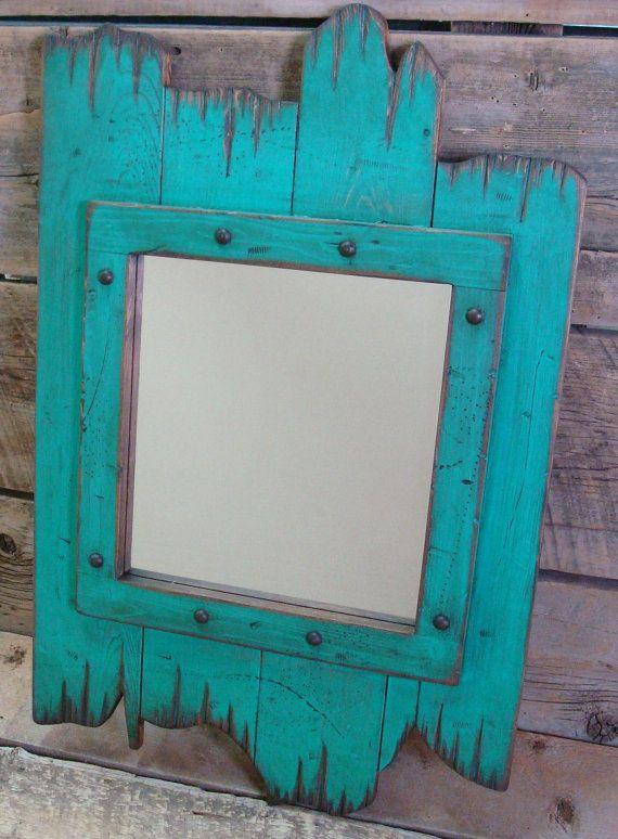 Barn Wood Mirror Frames