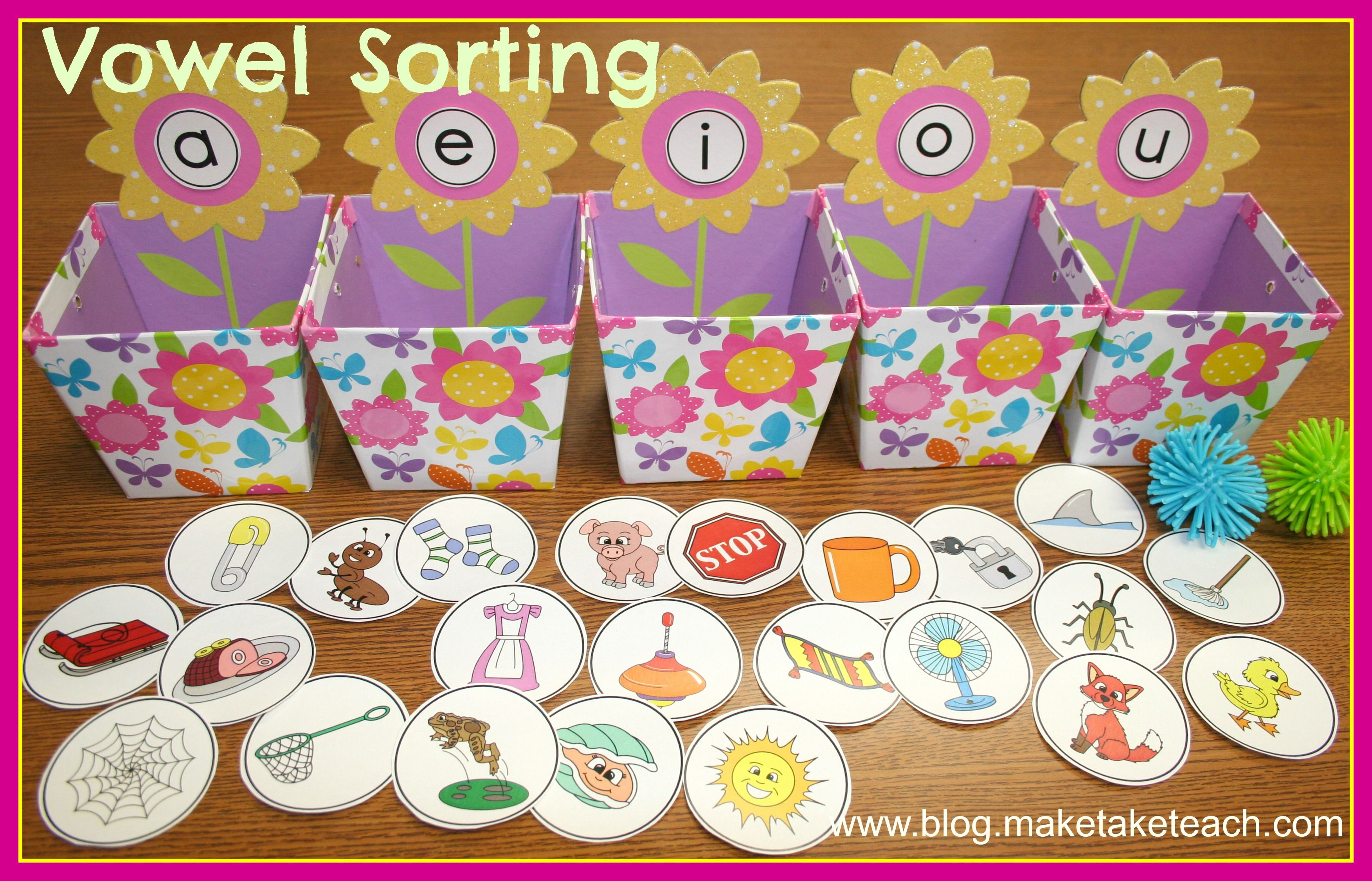 Vowel Sorting Could Also Make One For First Letter Recognition