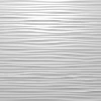 Decorative 3D wooden wall panel