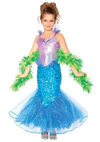 Girls Mermaid Costume | Halloween | Pinterest | Girls ...