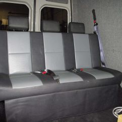 Van Sofa Bed Seat Cantoni Bench Converts To Camper Conversion