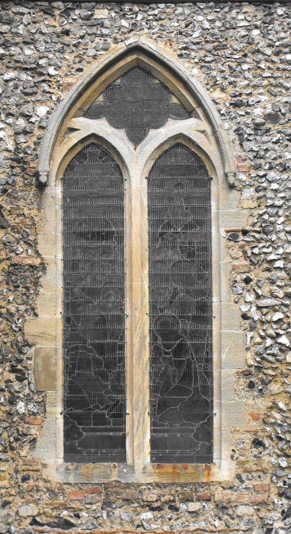 Lancet Windows In Classic Gothic Architecture