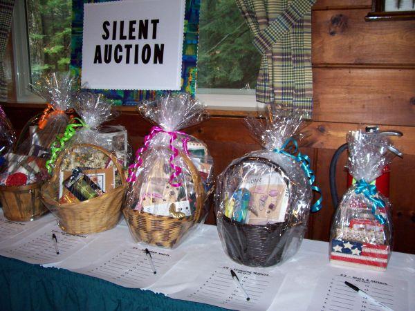 Silent Auction Strategy 5 Basket Ideas