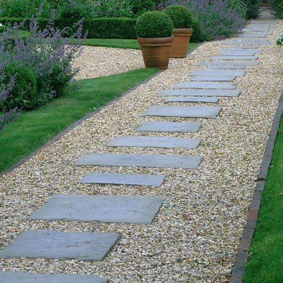 37 MESMERIZING GARDEN STONE PATH IDEAS Gardens Garden Paving