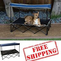 Outdoor Dog Bed With Canopy,Pet Shade,Dog Shade Canopy ...