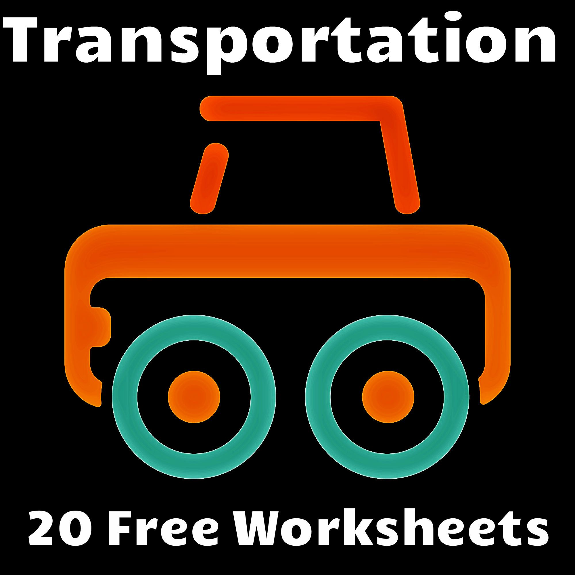 Twenty Free Transportation Worksheets To Teach Children