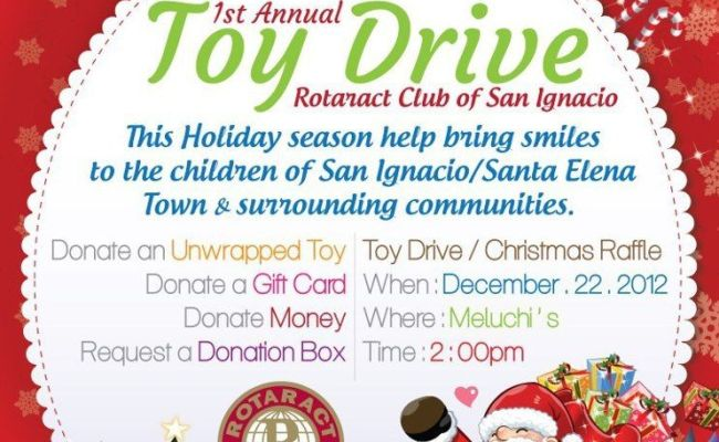 Rotaract Toy Drive At Meluchi S Toy Christmas Letters
