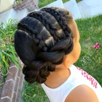 Hair style for little girls | Natural Hair Style Braids ...