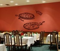 kik1036 Wall Decal Sticker pizza Pizzeria Italian ...