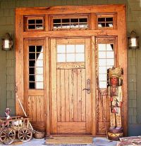 Log home entry doors | Wood Exterior Doors | Doors Design ...