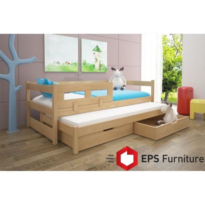 Details About Single Bed With Guest Childrens Beds Trundle Free Mattresses Tom