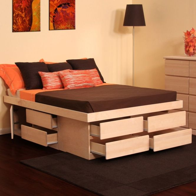 Drawing Of How To Transform Your Bedroom With Unique And Compact Look Storage Bed Nyc