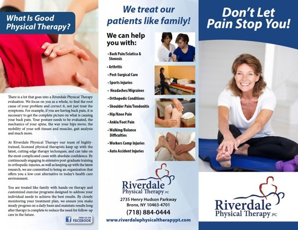 Custom Designs For PT Practice Brochures Print