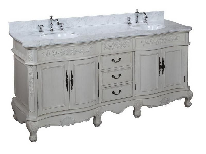 Provincial French Country Bathroom Vanity