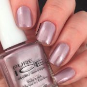 swatch of pure ice nail polish
