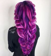bright, vivid, bold hair colors. | hair and makeup ...