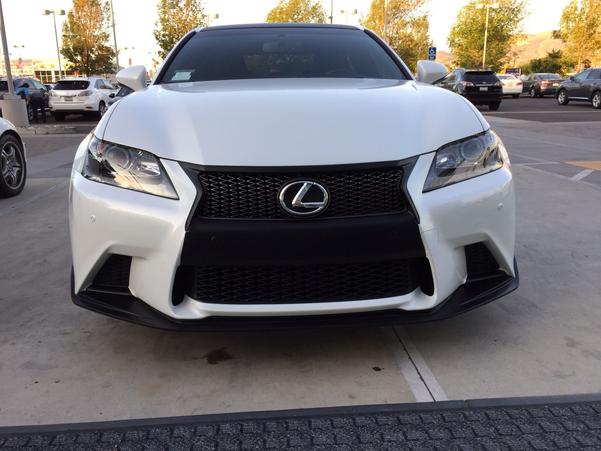 GS 350 front bumper black to match sport grill Club Lexus Forums