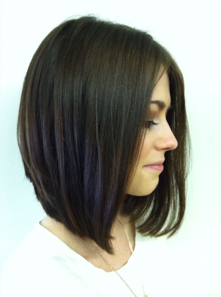 Long Stacked Haircuts on Pinterest  Thick Hair Hairstyles Medium Stacked Haircuts and Dyed