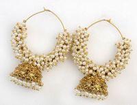 Traditional Kadi Dull Earring - Indian Imitation Jewellery ...