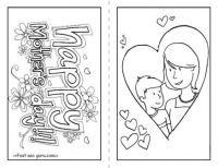 Free happy mothers day cards to print and color for kids ...