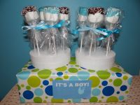 Baby Shower Marshmallow Pops. It's A Boy! Quick & easy ...