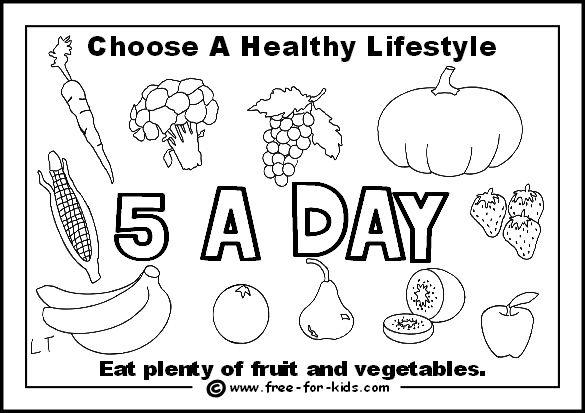 Printables. Healthy Eating For Kids Worksheets