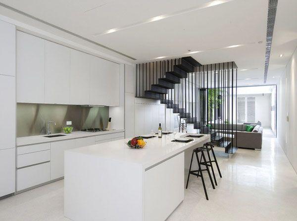 Terrace Home Goes Modern Singapore Style Singapore House Black