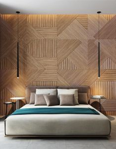 Modern Bedroom Bed Back Wall Design Valoblogi Com