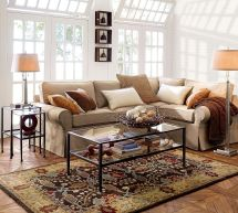 Pottery Barn Living Room Rug