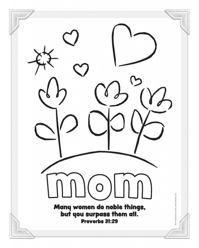 Christian Mother's Day printables from Guildcraft Arts