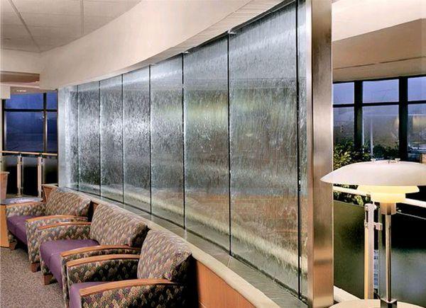 Interior Design, Harmonic Environments Indoor Waterfalls