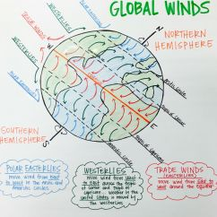 Global Wind Patterns Diagram 1955 Chevy Headlight Wiring Winds Anchor Chart Polar Easterlies Westerlies