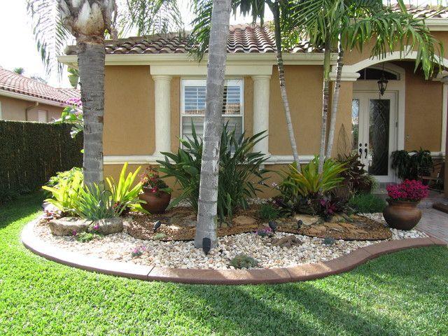 Tropical Backyard Landscaping Best Picture Backyard Landscape